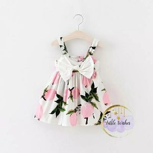 Other - Baby girl casual dress big bow